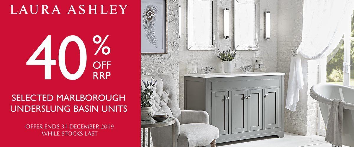 40% off Laura Ashley Bathrooms