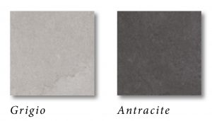 Anti-slip natural stone effect tile colours