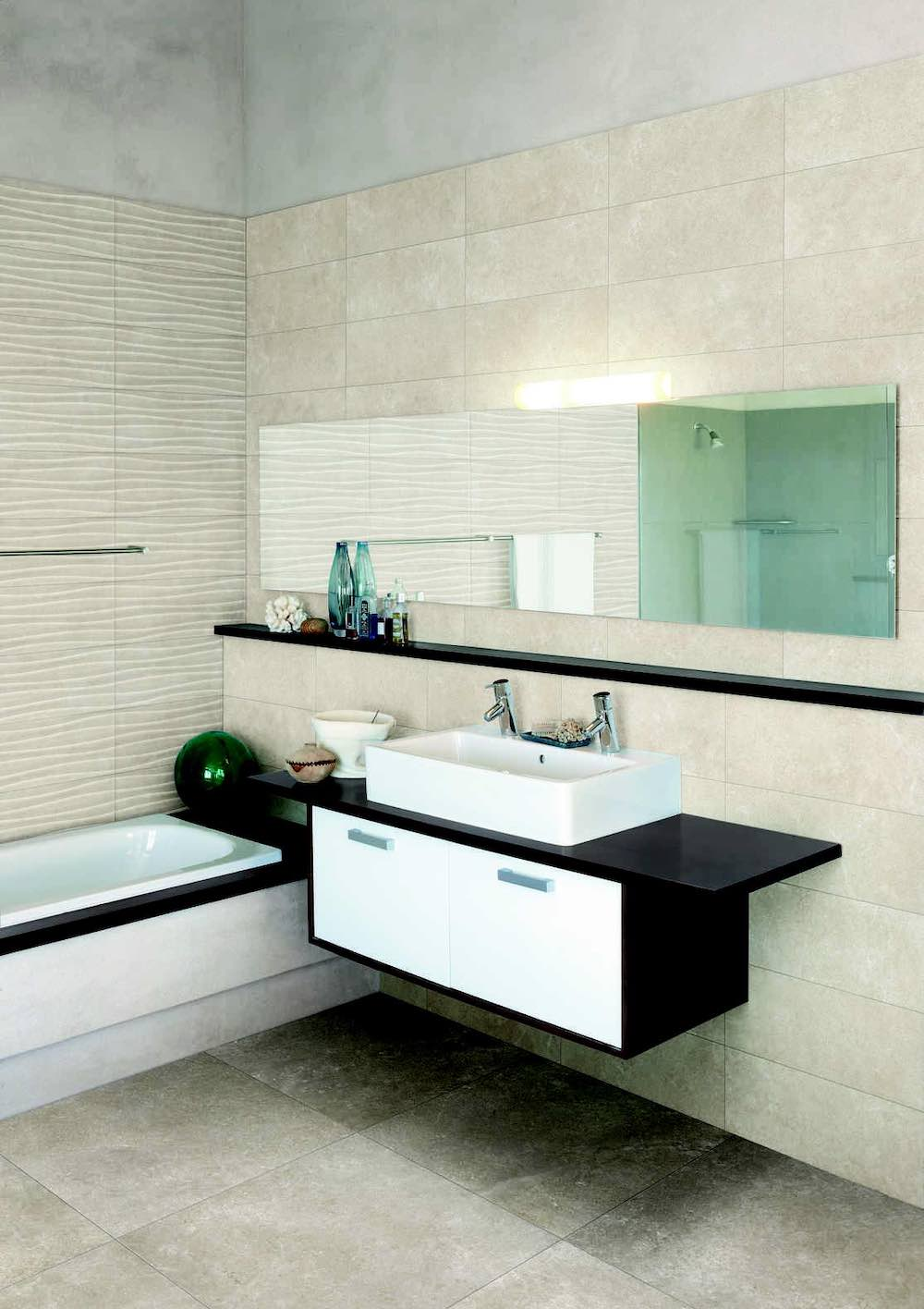 Anti-slip tile_Creek bathroom - Devon Tiles