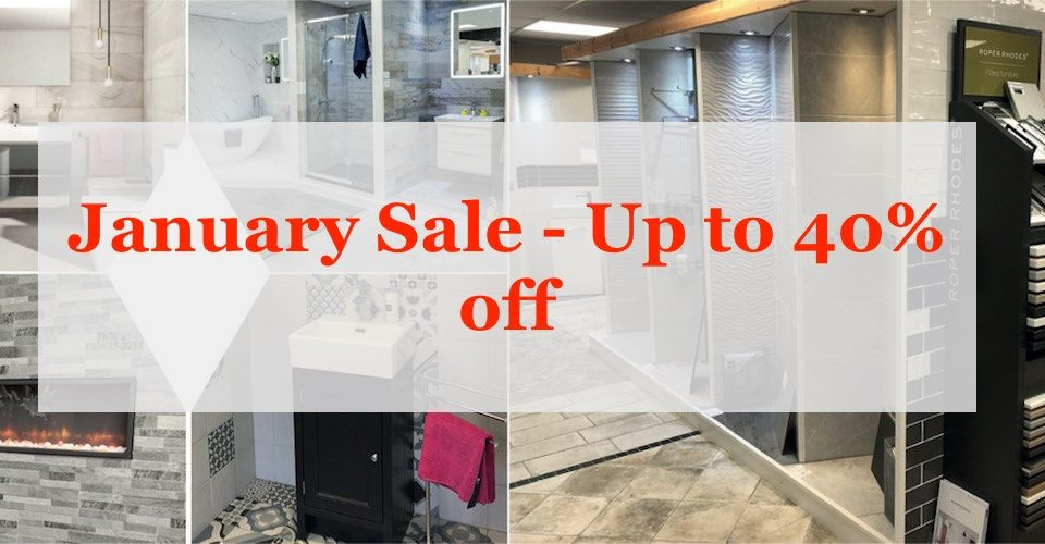 Bathroom and tile clearance sale