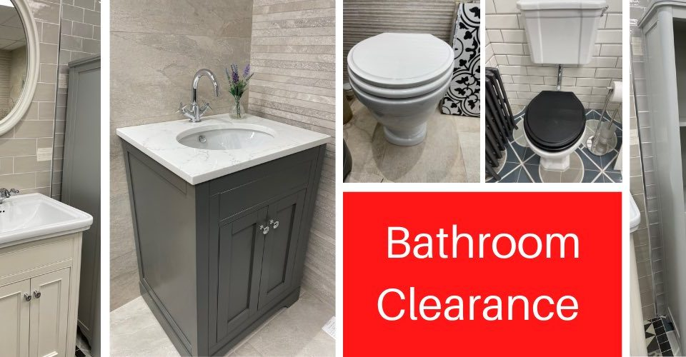 Bathroom clearance sale