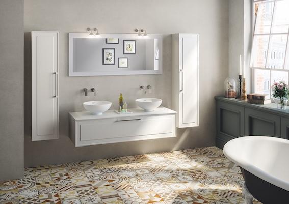 Bon Ton Brun vintage style tile