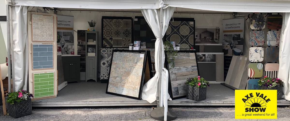 Devon Tiles exhibiting at Axe Vale Show