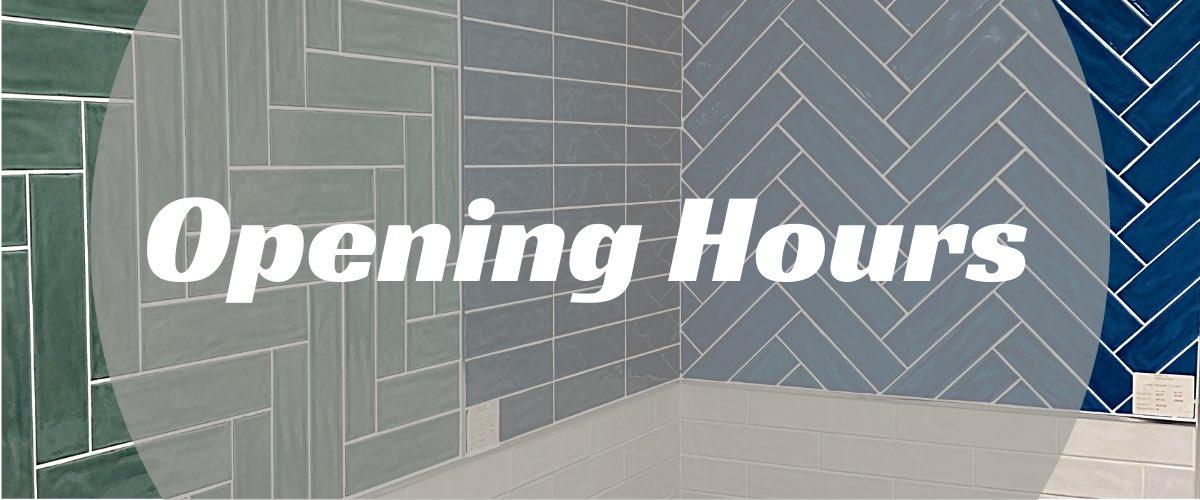 Devon Tiles opening hours