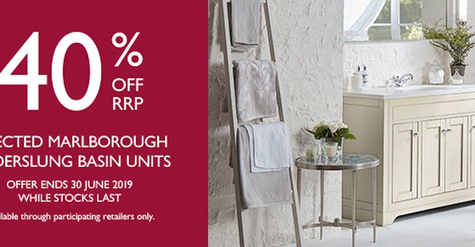 Laura Ashley Bathroom Collection spring promotion