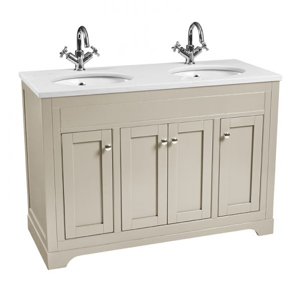 Laura Ashley Bathrooms Marlborough 1200mm double basin unit
