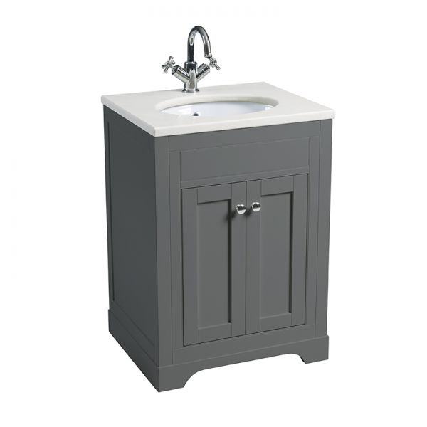 Laura Ashley Bathrooms Marlborough 600mm single basin unit
