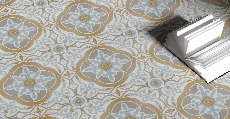 Vintage style tiles