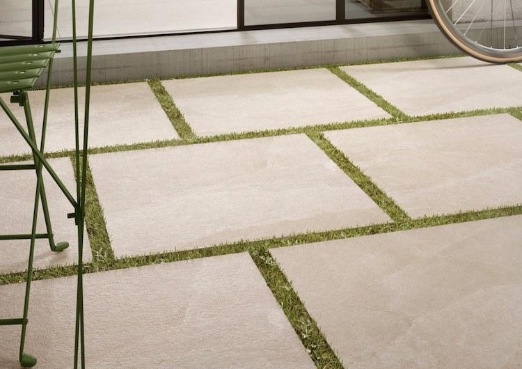 X-rock outdoor tiles
